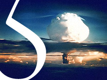 Ivy Mike Test of First H-Bomb in 1952.