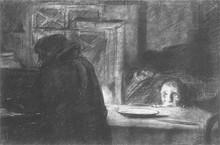 Блокада. Из серии  Ленинградская блокада. 1941-1944 . 1956