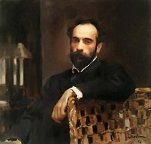 Painting by V.Serov (Image from f.rodon.org)