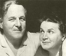 Vera Mukhina and Alexey Zamkov
