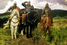 The Bogatyrs (Image from www.artelli.ru)