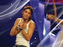 Dima Bilan at Eurovision 2008 (image from bilandima.com)