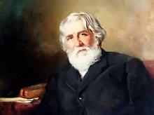 Painting by K.Makovsky (Image from www.turgenev.net.ru)