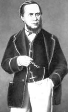 Портрет Салтыкова-Щедрина в 1860-е годы.