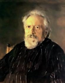 Painting by V.Serov (Image from www.bibliotekar.ru)