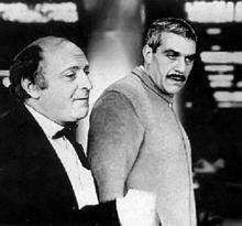 Josef Brodsky and Sergey Dovlatov (image from naviny.by)