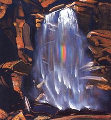 Svetoslav Roerich. Rainbowfall.