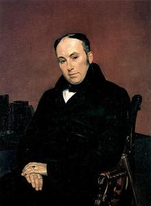 Karl Briullov  Portrait of Vasily Zhukovsky