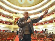 В Большом Театре (Photo from http://zateevo.ru/)