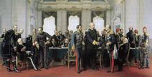 «Берлинский конгресс, 13 июля 1878» Горчаков сидит слева