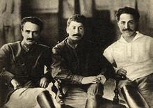 Anastas Mikoyan, Joseph Stalin and Grigoriy Ordzhonikidze, Tiflis (now Tbilisi), 1925.