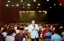 Выступление в Польше в 1992 году (Photo from http://www.kashpirovskiy.com)
