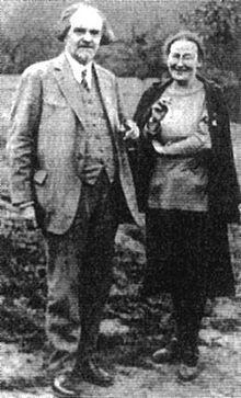 Nikolay Berdyaev and his mother Maria