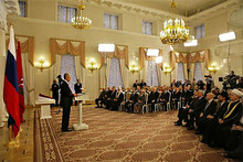 Церемония инаугурации мэра Москвы Сергея Собянина (Photo from http://kremlin.ru)