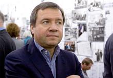 Valentin Yumashev (Photo from http://www.yeltsincenter.ru)