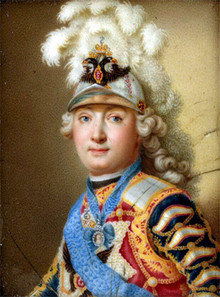 Граф Григорий Григорьевич Орлов (А. И. Черный. Конец 1760-х гг.)