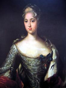Портрет Марии Александровны Меншиковой? первой невесты Петра II. Меншиков дворец, Санкт-Петербург