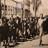 Column of Jewish women under police escort of Lithuanian community defense volunteer squad, 1941