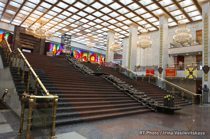 Central Museum of the Great Patriotic War: Hall of Commanders and the Grand Stairs