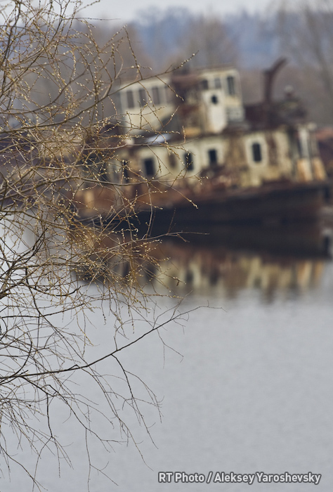 Chernobyl: These ships have been rotting at the