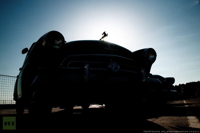 Classic GAZ car show: The GAZ M21 - the first Volga car. More photographs here: tere-photo.livejournal.com