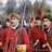 """Members of the 1612 battle reconstruction are dressed as """"streltsy"""" (Russian riflemen in 16-17th Centuries)"""