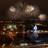 Fireworks in the night sky of Moscow