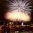 Spectacular fireworks over
