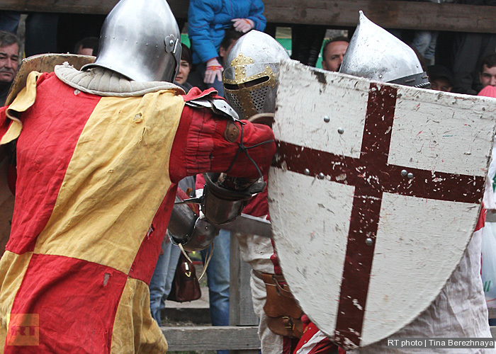 Medieval button.