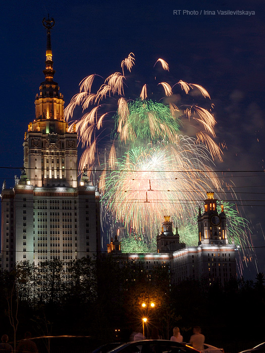 Victory Day Fireworks: Since 1945 the holiday has become one of the biggest dates of the year