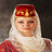An Ossetian woman in national costume
