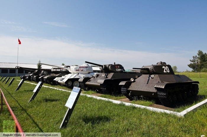The world's biggest collection of tanks at Kubinka museum: Soviet tanks that won WWII