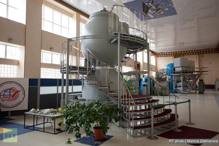 The Yury Gagarin Russian State Science Research Cosmonauts Training Center (Star City): Soyuz mockup