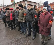 Дружинники на митинге 10 декабря 2011г. на Болотной площади в Москве (RT Photo / Irina Vasilevitskaya)