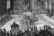 Русские послы в Гааге в 1697 году.
