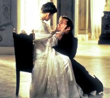 Евгений и Татьяна, кадр из фильма.