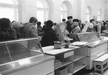 Пустые прилавки в СССР в 80х