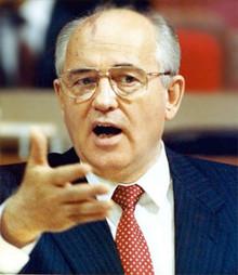 Mikhail Gorbachev (Photo from http://rupor.sampo.ru)