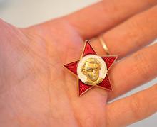 Октябрятский значок (RT Photo / Irina Vasilevitskaya)