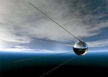 Sputnik-1 (Photo from http://www.kau.su)