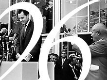 Richard Nixon (L) and Nikita Khrushchev, AFP Photo / TASS
