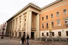 Театр Вахтангова (Photo from http://www.vakhtangov.ru)