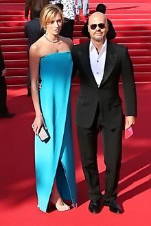 Fyodor Bondarchuk with wife Svetlana (photo by Boris Ponomaryov)