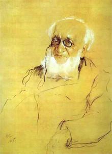 П.П. Семенов-Тян-Шанский, портрет работы Валентина Серова.