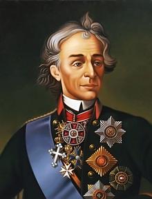 "Epifanov Pavel. Copy of unknown artist ""Portrait of A.V.Suvorov"" (Image from sfart.ru)"