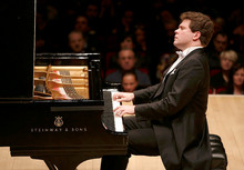 Denis Matsuev at Carnegie Hall(Photo from http://matsuev.com)