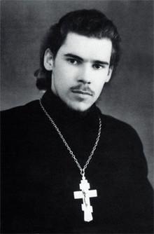 Священник Алексей Ридигер в 1950-е годы (Photo from http://www.sostav.ru)