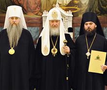 Патриаршее служение в Храме Христа Спасителя (Photo from http://www.patriarchia.ru/)