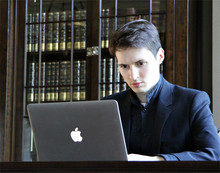Pavel Durov (Photo from http://vk.com/id1)