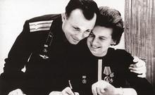 Valentina Tereshkova and Yury Gagarin
